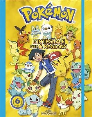 Pokémon : L'intégrale des 6 régions por Les Livres du Dragon d'Or