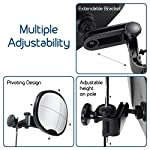 Baby Car Mirror - Highest Stability | Clamp Design | Quick Installation | 100% Shatterproof | Easily Adjustable | PREMIUM QUALITY  Baby Car Mirror – 100% Shatterproof 51MVZ6fdgIL