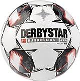 Derbystar Bundesliga Brillant Mini Fußball, Weiss/Schwarz/Rot, 47 cm