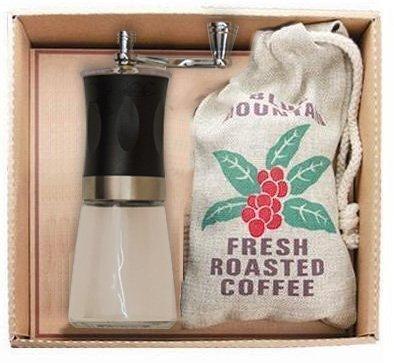 Geschenkset Kaffeemühle und Kaffee