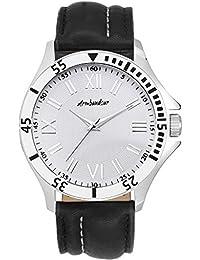 Armbandsur Analog white dial elegant Watch-ABS0019MWB