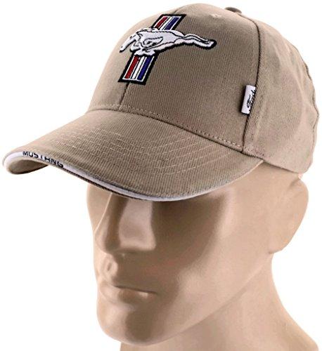dantegts-ford-mustang-gt-tan-braun-baseball-cap-trucker-hat-snapback-50liter-cobra