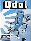 Kühlschrank Metall Magnet 6x8 cm Zahnpasta Zahncreme Nostalgie Tin Sign EMAG301
