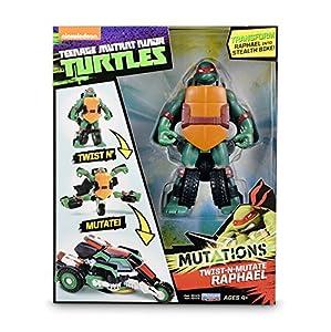Tortugas Ninja - TMNT Mutation vehiculos con Tortuga Rafael (Giochi Preziosi TUM05221)