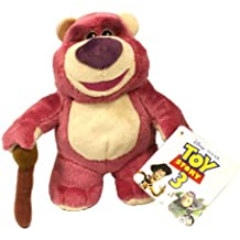 DISNEY TOY STORY 3 LOTSO OSO DE PELUCHE JUGUETE SUAVE DE LA FELPA. Disney  juguete historia Lotso peluche oso de agarrarselas b2bc897ce67