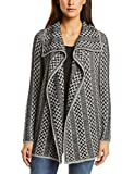 Street One Damen Strickjacke 252573, Grau (Neo Grey 21017), 38