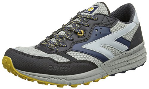 Hi-Tec Badwater, Chaussures de Fitness homme Gris (Grey/charcoal/corsair 054)