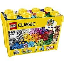 LEGO Classic - Caja de ladrillos creativos grande, multicolor (10698)