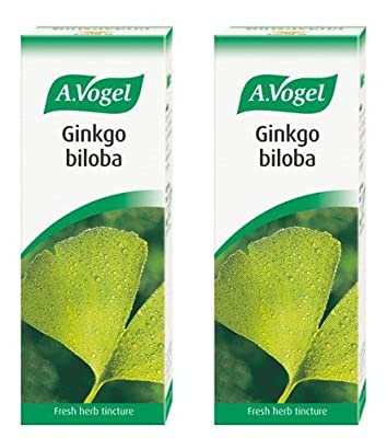 (2 Pack) - A Vogel - Ginkgo Biloba | 50ml | 2 PACK BUNDLE from A.VOGEL