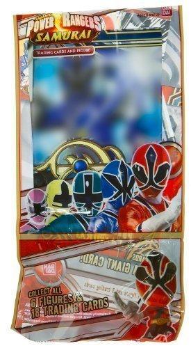 ~1.5 Mini-Figure + 3 Trading Card: Power Rangers Samurai Trading Figure + Card Series by Power Rangers Samurai ()