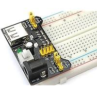 Ecloud Shop® 3.3V/módulo de alimentación de 5V MB102 breadboad para el Arduino proporcionad