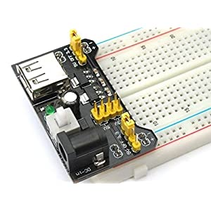 51MVjxjX14L. SS300  - Ecloud Shop® 3.3V/módulo de alimentación de 5V MB102 breadboad para el Arduino proporcionad