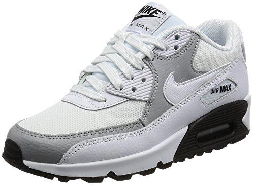Grigio Esecuzione 90 bianco Bianco Wmn Prem Bianco Nero Air Max Nike Lupo Workout xqR6RBPY4w