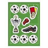Fußball 9 Zuckersticker