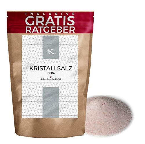 Kristallsalz - Sal cristalina fina, natural y ecológica 850g