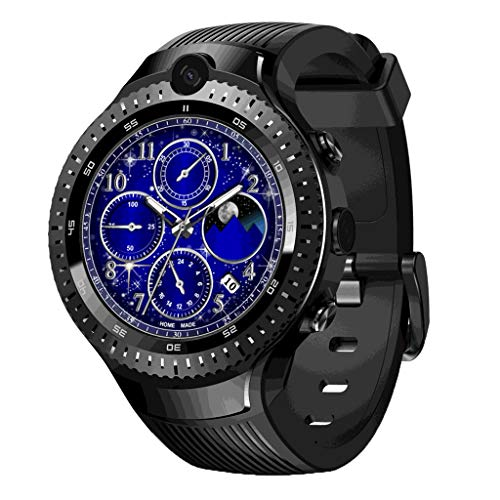 Preisvergleich Produktbild Sport Intelligente Armbanduhr,  12shage 4 Dual 4G GPS WiFi Android Smart Watch 1GB+16GB 5MP Camera Fitness