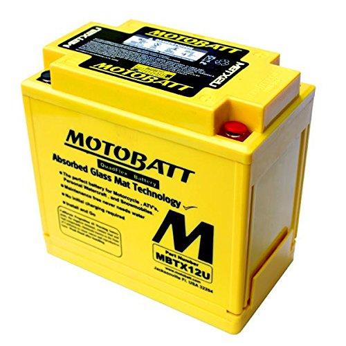BATTERIA MOTOBATT AGM MBTX12U 14 AH POTENZIATA BQ023 YTX12BS YTX14BS HBS LBS KMX