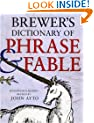Brewer's Dictionary of Phrase & Fable, 17th edition