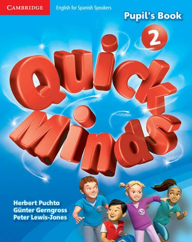 Quick Minds Level 2 Pupil's Book with Online Interactive Activities - 9788483235287 por Herbert Puchta