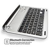 Caseflex Ultra Thin iPad Mini Bluetooth Keyboard With Magnetic Grip, Adjustable Holding Stand For iPad Mini, Mini 2 & Mini 3