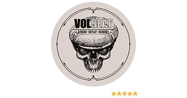 Volbeat Rewind Replay Rebound 002 Autoaufkleber Sticker Aufkleber Wasserfest Auto