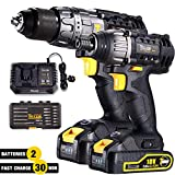 Best Impact Drivers - Drill and Impact Driver, TECCPO Cordless Drill Driver Review
