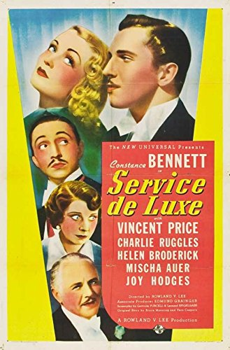 Service de Luxe Movie Poster (27,94 x 43,18 cm)