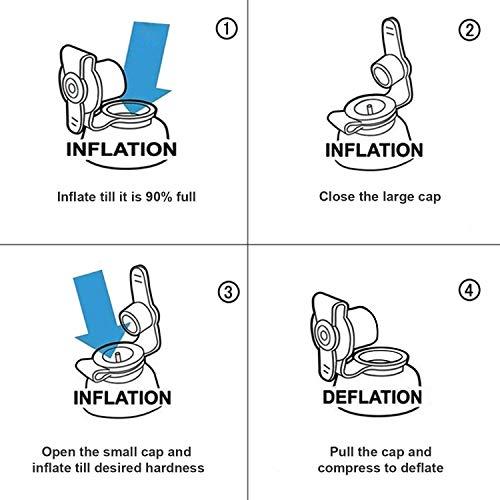 Dormire Con Cuscino Sotto Gambe.Poggiapiedi Gonfiabile Cuscino Portatile Aereo Aiuta A Dormire Per