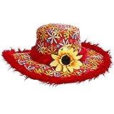 Chapeau hippie tournesol femme