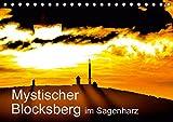 Mystischer Blocksberg im Sagenharz (Tischkalender 2019 DIN A5 quer): Mystische Fotos vom Brocken im Harz (Monatskalender, 14 Seiten ) (CALVENDO Natur)