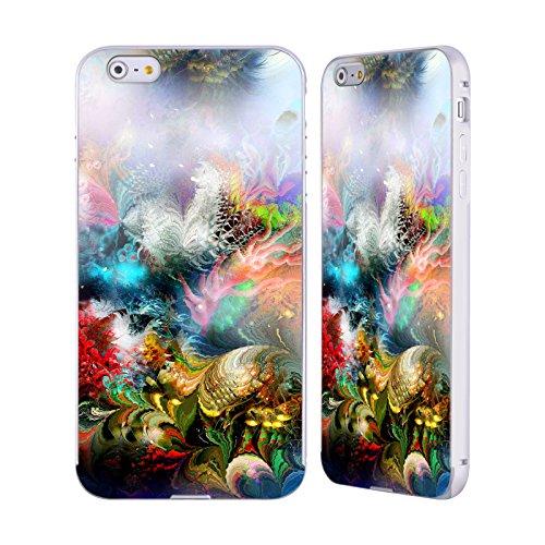 Ufficiale Runa Nuovo Rococo Vivido Argento Cover Contorno con Bumper in Alluminio per Apple iPhone 5 / 5s / SE Barriera Corallina 1