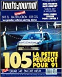 AUTO JOURNAL (L') [No 19] du 01/11/1989 - COMPARATIF 605 SL XM SEDUCTION R 25 GTS -...