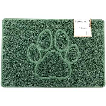 Nicoman PAW Embossed Shape Door Mat Dirt-Trapper Jet-Washable Doormat【Use Indoor