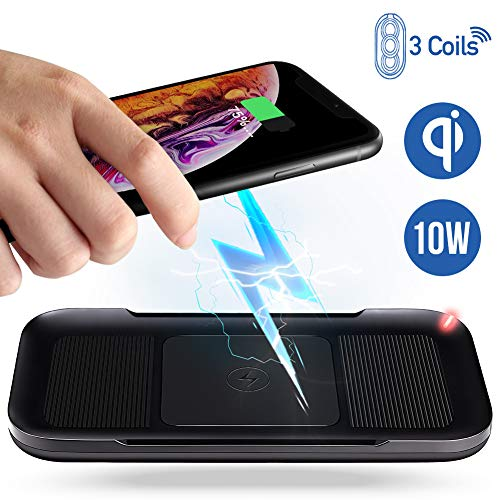 2 In 1 Charging Base Stand Base Qi Wireless Charger For Iphone Xs Max Xr X 8 Samsung Galaxy J5 J7 S5 S7 S8 S9 Plus Note 8 9 Products Are Sold Without Limitations Home