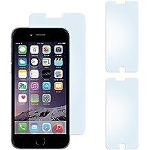2x iPhone 6S Plus Schutzfolie Matt Display Schutz [Anti-Reflex] Screen protector Fingerprint Handy-Folie matte Displayschutz-Folie für iPhone 6 Plus / 6S + Plus Displayfolie - Bildschirm gewölbt, Folie bewusst kleiner