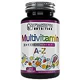 Multivitamin A-Z 250 Tabletten von Fat2Fit Nutrition 100% Tagesdosis