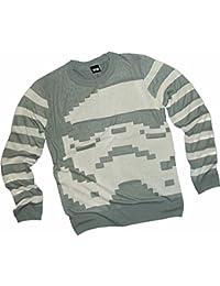 Stormtrooper Stripe -- Star Wars Adult Knit Crewneck Sweater