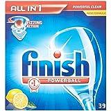 Terminer All in 1 Powerball Lave-vaisselle comprimés Lemon (39) - Paquet de 6