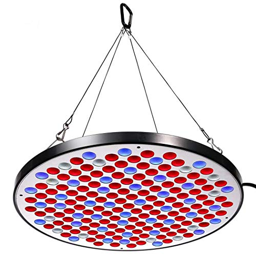 Niello® Reflector 50W LED Pflanzenlampe LED Grow Light Vollspektrum Pflanzenlicht Led Grow Lamp nur 1 cm Dick mit Schalter für Zimmerpflanzen Gemüse und ()