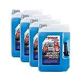SONAX 4X 02325050 Xtreme AntiFrost+KlarSicht Konzentrat Scheiben Frostschutz 5L