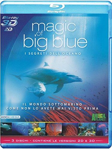 Preisvergleich Produktbild Magic Of Big Blue - I Segreti Dell'Oceano (2D+3D) [Blu-ray] [IT Import]