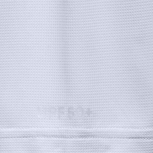 Under Armour UA Sunblock felpa con cappuccio White/ Glacier Gray
