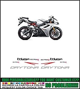 Kit adesivi decal stikers TRIUMPH DAYTONA 675R (ability to customize the colors)