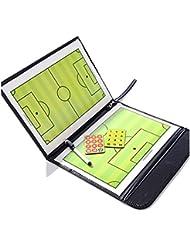 Anam Imán de entrenador de fútbol de fútbol tácticas Board con un borrable Rotulador