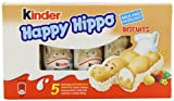 Kinder Happy Hippo Hazelnut 5 x 103.5 g (Pack of 10, Total...