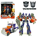 #7: Transformers Leader Class Optimus Prime Robot to Truck Converting Figure  (Multicolor) Blue