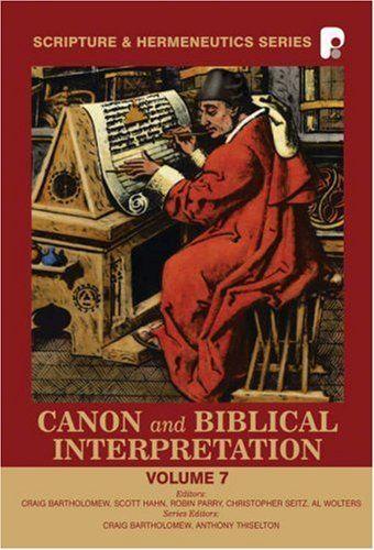 Canon and Biblical Interpretation Cover Image