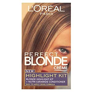 L Oreal Perfect Blonde Creme New Highlighting Kit Amazon