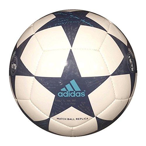 adidas Finale16Real Madridmin Balón de Fútbol, Hombre, Blanco (Blanco / Morsup / Mornat), 1
