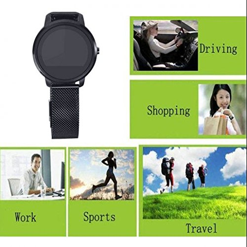 51MW5pZMUyL. SS500  - Animanp Bluetooth GPS Tracker smart watch,Appearance vogue,HD Display Screen,Calorie Counter Sport Watch,Step Tracker/Calorie,Works with Apple iOS,Android with Notifications